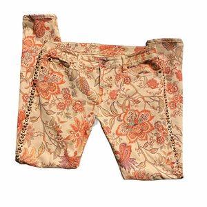 Denim & Supply | Women's Floral Skinny Jeans